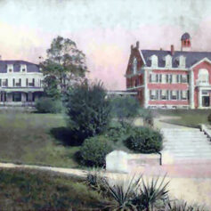 Painting of the Samuel Ready School
